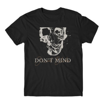 DON'T MIND 2 - Short Sleeve T-shirt - Black Thumbnail