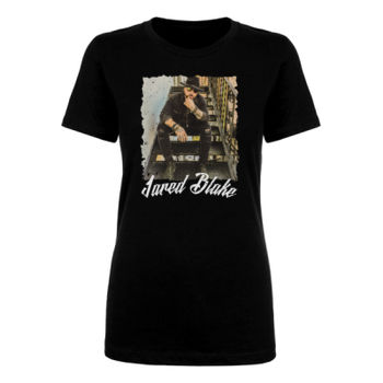 STAIRS - Ladies Short Sleeve T-shirt - Black Thumbnail