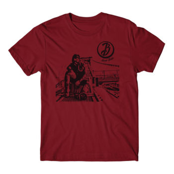 BRIDGE - Short Sleeve T-shirt - Red Thumbnail
