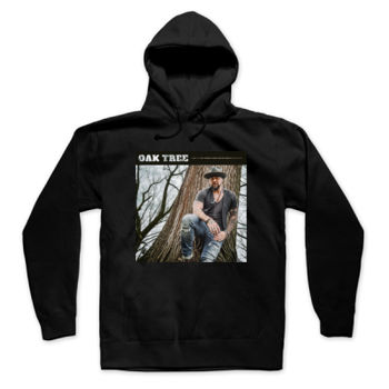 OAK TREE - PULLOVER HOODIE - BLACK Thumbnail