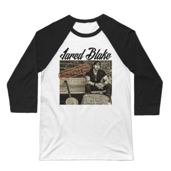 COUNTRYFIED - 3/4 Sleeve Baseball T-shirt - White/Black Thumbnail